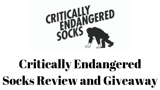 Critically Endangered Socks Review and Giveaway