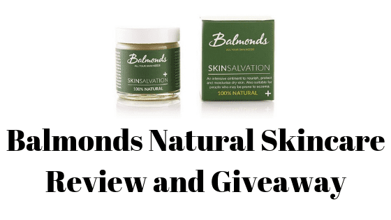 Balmonds Natural Skincare Review and Giveaway