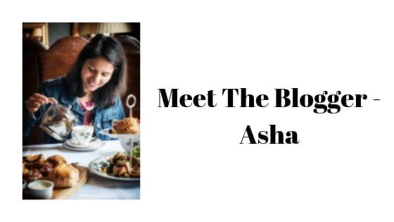 meet the blogger -asha