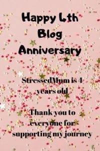 Happy 4th Blog Anniversary