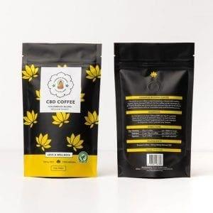 cheeful buddha coffee pack