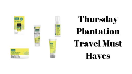Thursday Plantation Travel Must Haves
