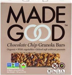 choc chip granola bar