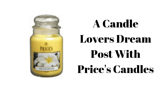 A Candle Lovers Dream Post With Price's Candles