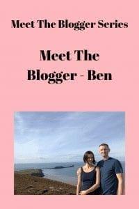 Meet The Blogger - Ben