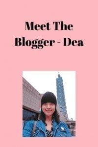 Meet The Blogger - Dea