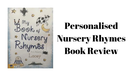 Personalised Nursery Rhymes Book Review