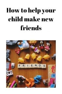 How to help your child make new friends