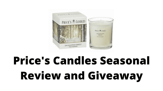 Price's Candles Seasonal Review and Giveaway