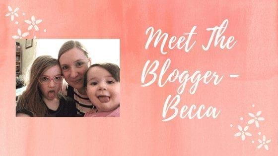 Meet The Blogger - Becca
