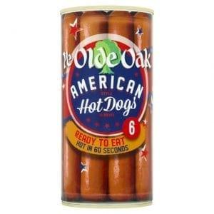 ye olde american hot dogs