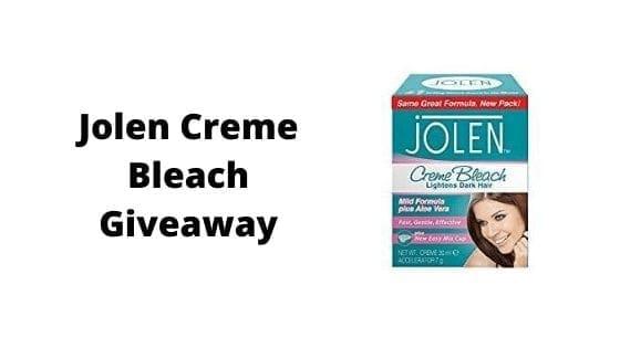 Jolen Creme Bleach Giveaway