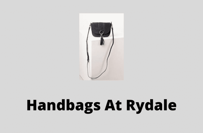Handbags At Rydale