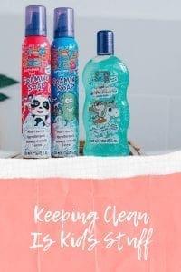 Keeping Clean Is Kids Stuff