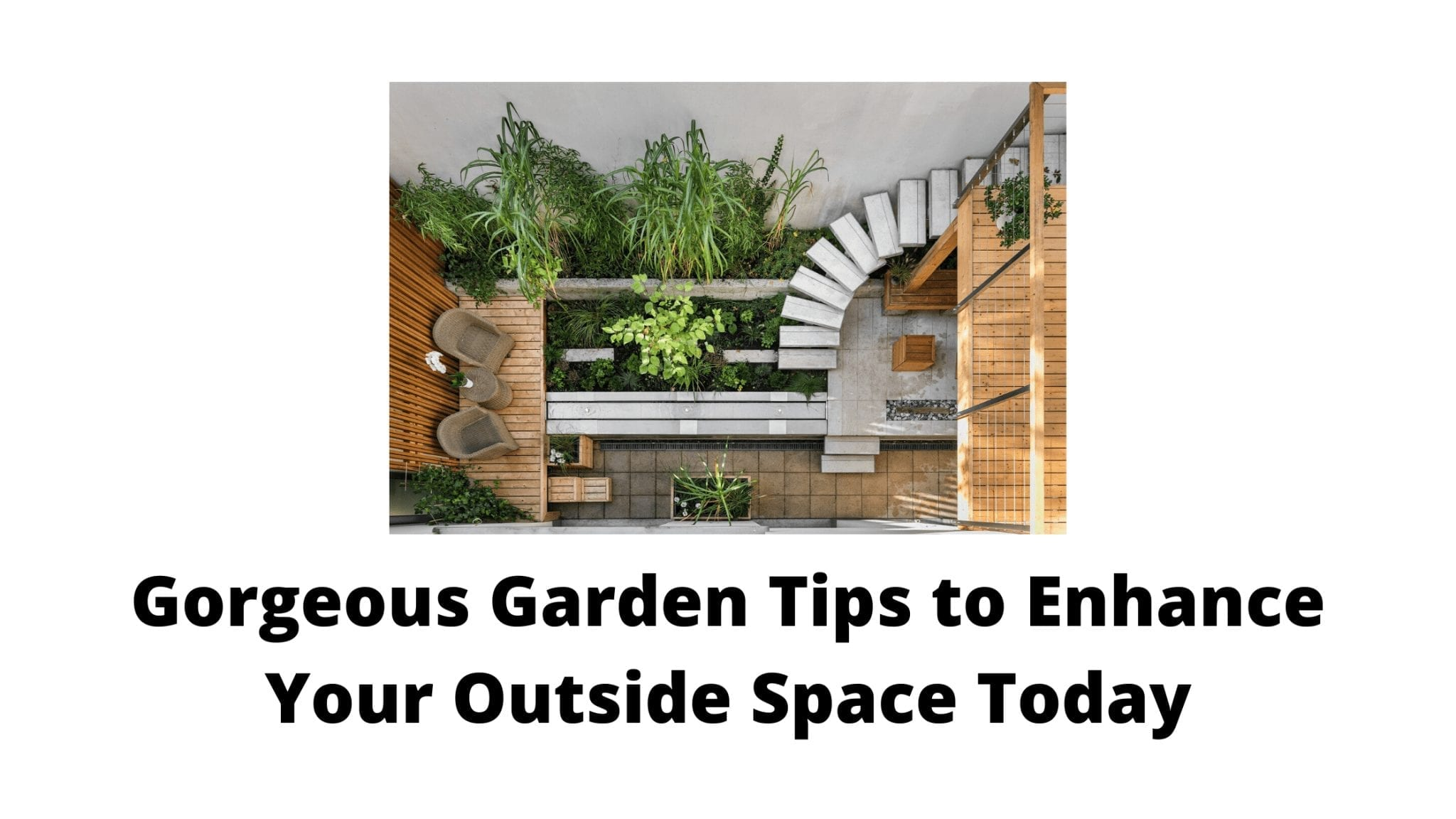 Gorgeous Garden Tips to Enhance Your Outside Space Today