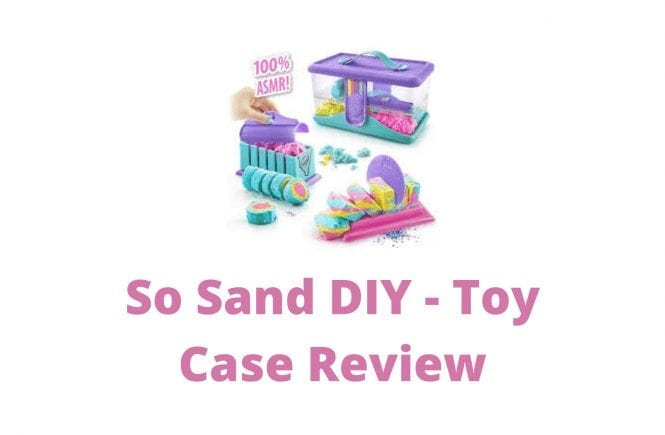 So Sand DIY - Toy Case Review