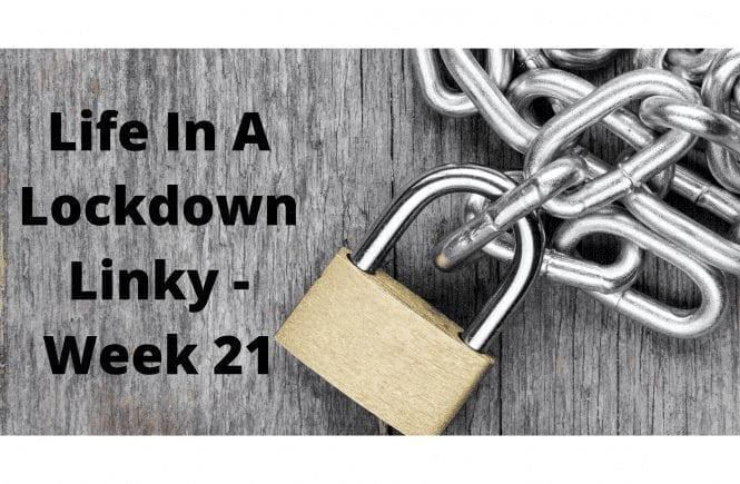 Life In A Lockdown Linky - Week 21
