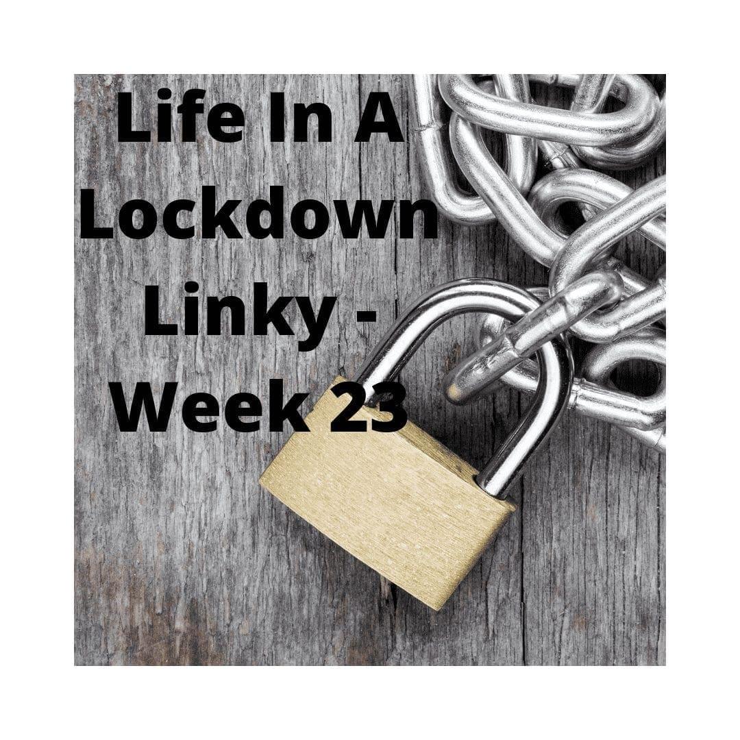 Life In A Lockdown Linky - Week 23