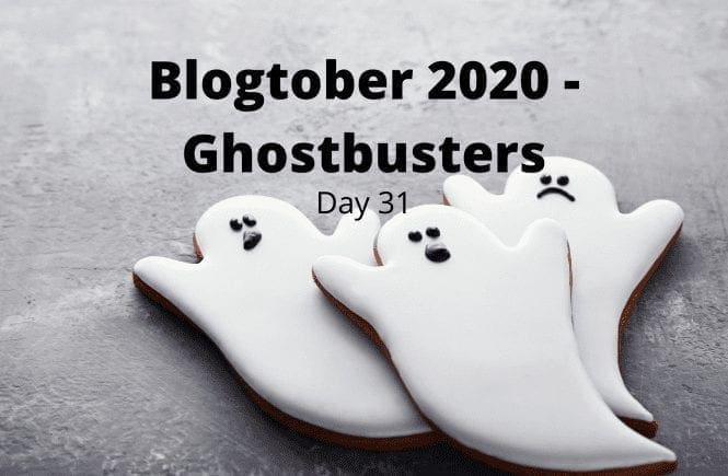 Blogtober 2020 - Ghostbusters
