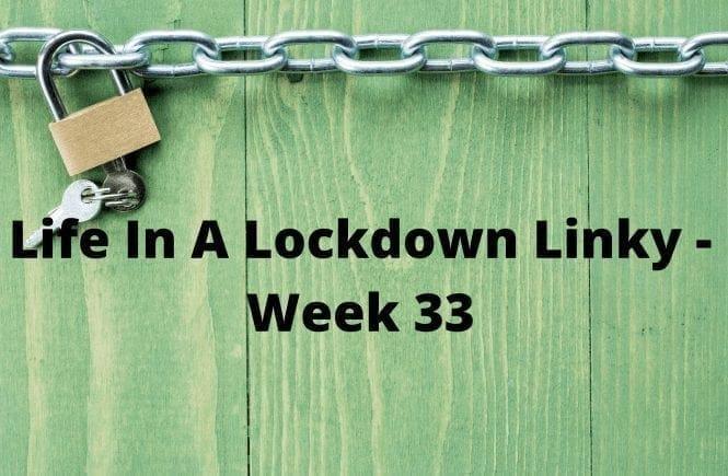 Life In A Lockdown Linky - Week 33