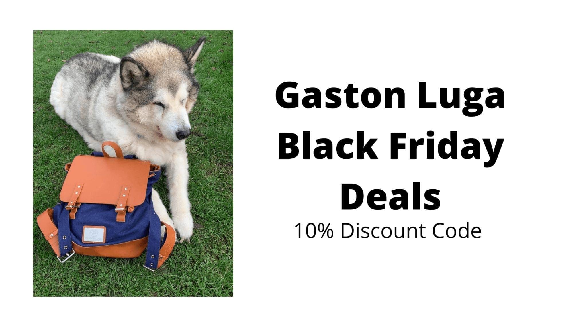 Gaston Luga Black Friday Deals