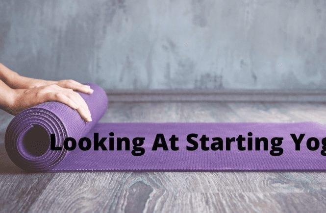 Looking At Starting Yoga