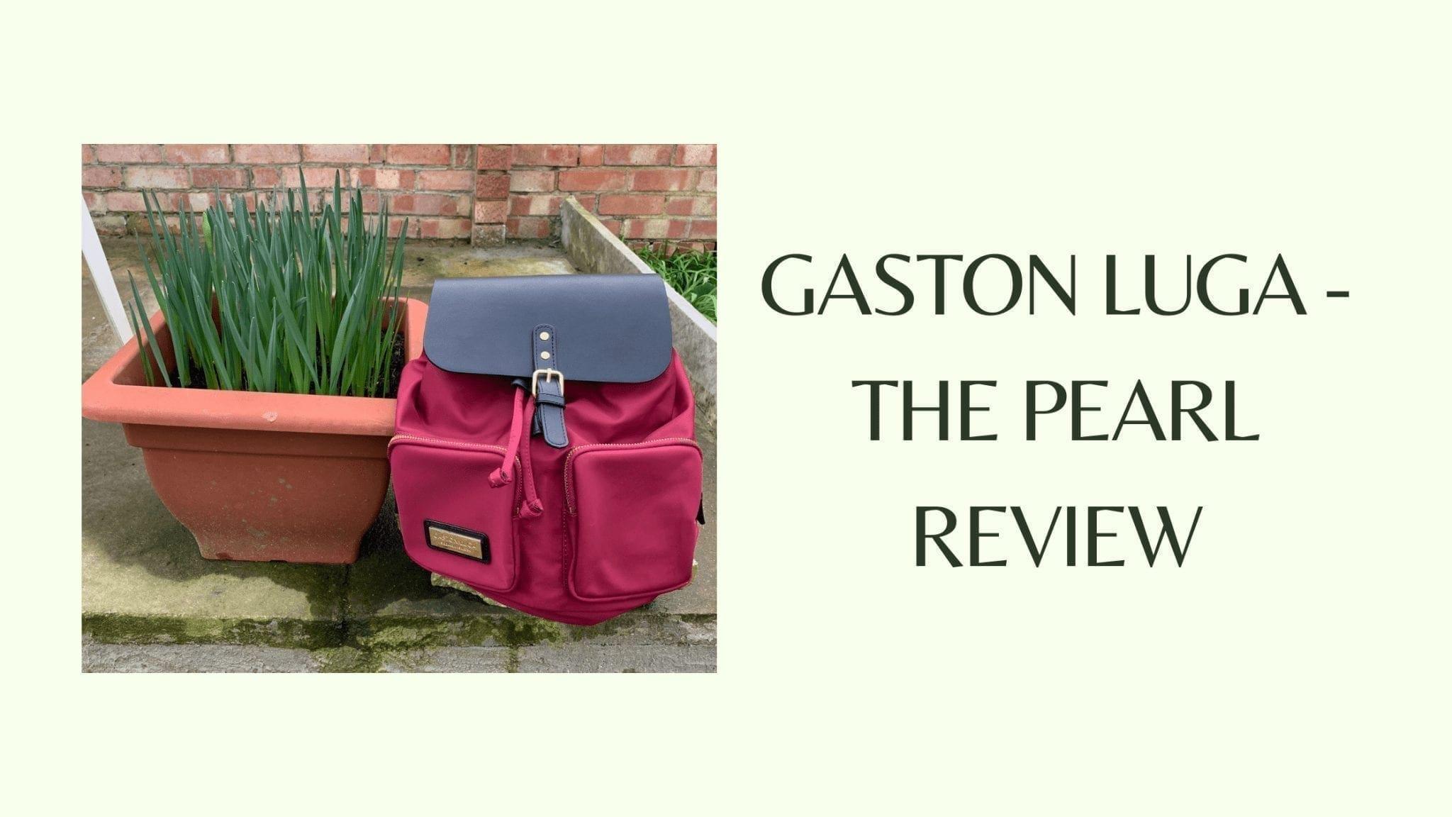 Gaston Luga - The Pearl Review