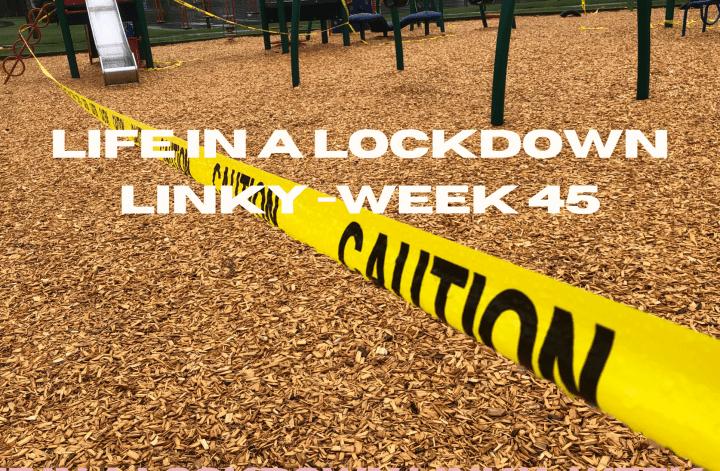 Life In a Lockdown Linky -Week 45