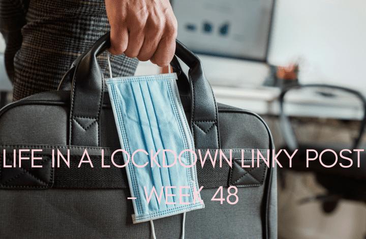 Life In A Lockdown Linky Post - Week 48
