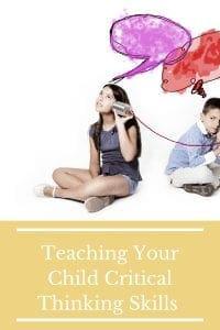 Teaching Your Child Critical Thinking Skills