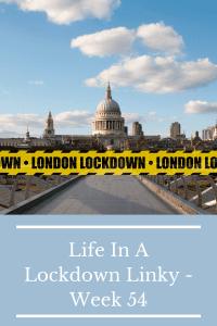 Life In A Lockdown Linky - Week 54