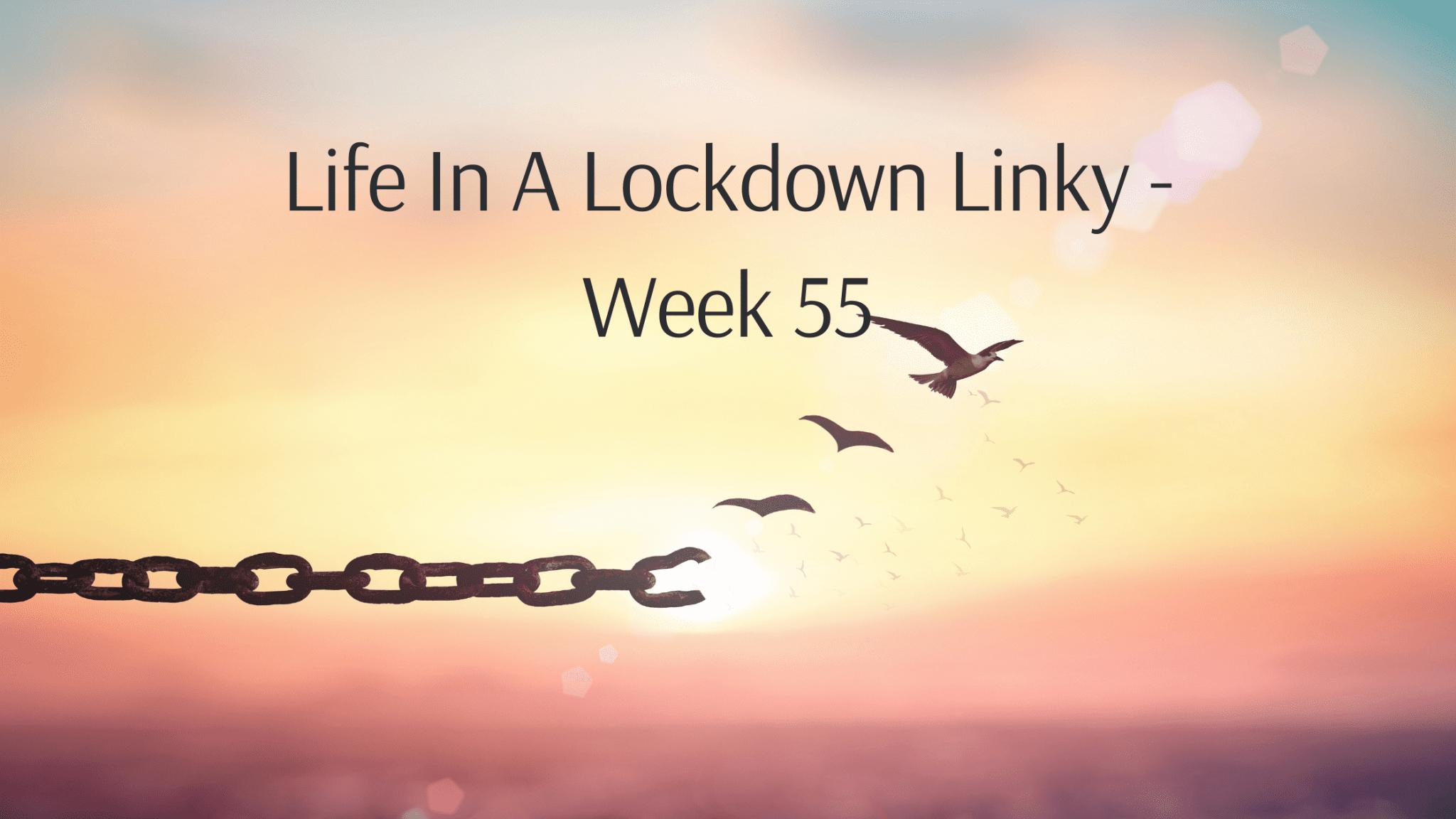 Life In A Lockdown Linky - Week 55