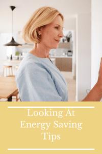 Looking At Energy Saving Tips