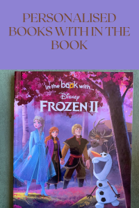 Personalised Books With In The Book