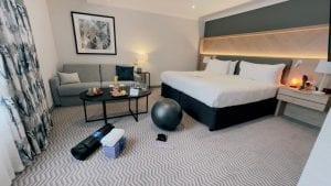 hilton croydon wellness room