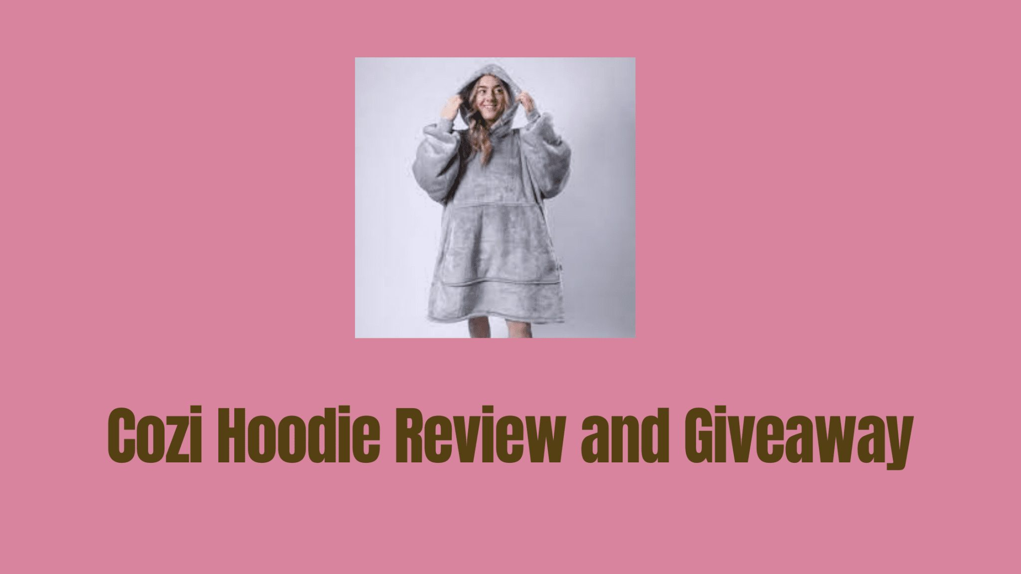 Cozi Hoodie Review and Giveaway
