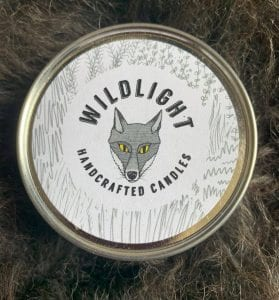 wildlight scented candle