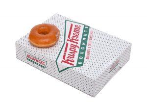 Krispy Kreme Doughnut Box