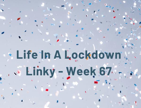Life In A Lockdown Linky - Week 67