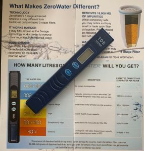 check your water