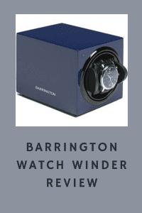 Barrington Watch Winder Review