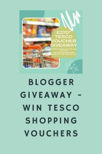 Blogger Giveaway - Win Tesco Shopping Vouchers