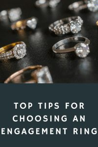 Top tips for choosing an engagement ring
